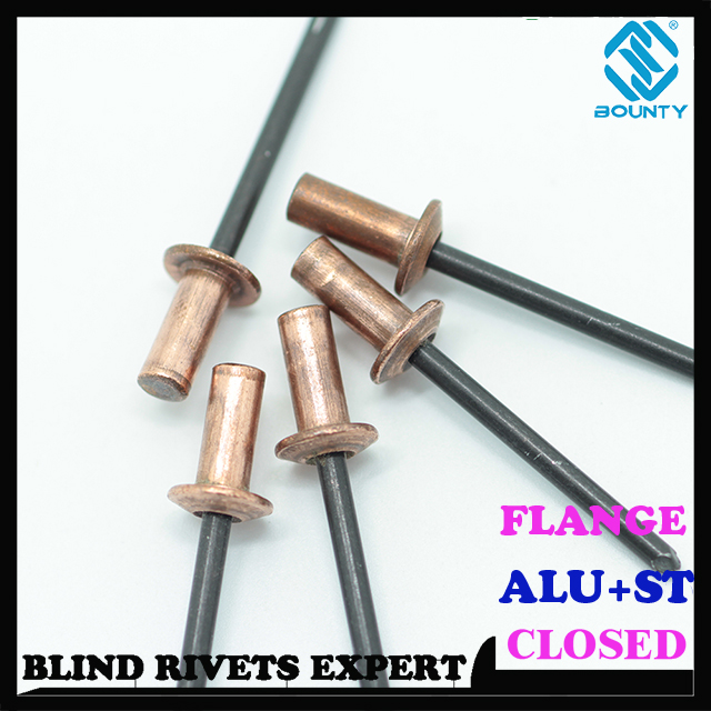 COPPER CLOSED END BLIND RIVETS