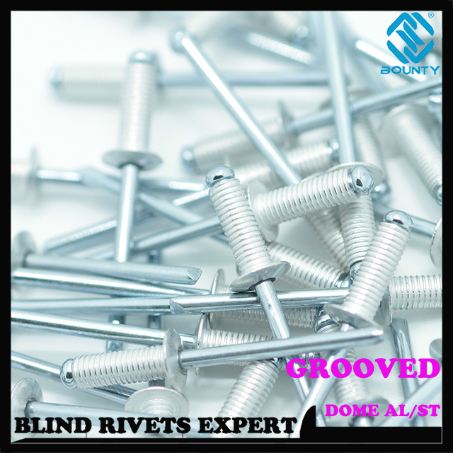 Aluminum Grooved Rivets