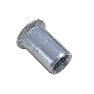 Countersunk Head Knurled Ribbed Insert Rivet Nuts