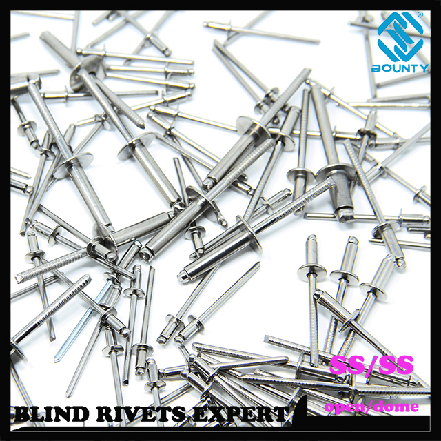 Stainless Steel Blind Rivets With Stainless Steel Mandrel