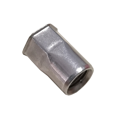 Stainless Steel Open End Reduced Head Hex Insert Rivet Nuts